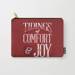 Tidings of Comfort & Joy Carry-All Pouch