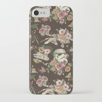 spirit iPhone & iPod Cases featuring Botanic Wars by Josh Ln