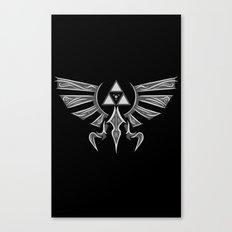 The Legendary Crest Canvas Print