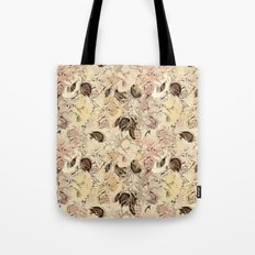pattern Flowers Tote Bag