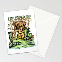 Death From The Cliff for people who like  fantasy legends and mythical creatures  Stationery Cards