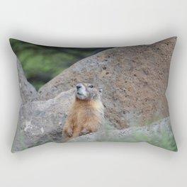Adult Marmot Rectangular Pillow