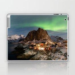 Northern Lights Over Hamnøy Laptop & iPad Skin