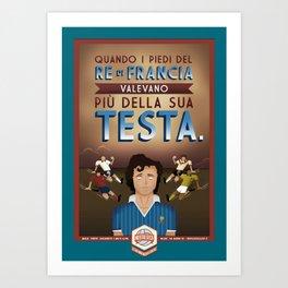 Poster Nostalgica - Platini Art Print