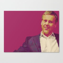 A Study in Pink: Greg Canvas Print