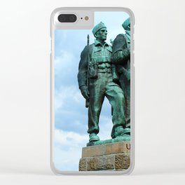 Commando Clear iPhone Case