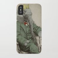 yetiland iPhone & iPod Cases featuring Royal Portrait, 1931 by Eric Fan