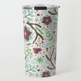 Winter Foliage Travel Mug