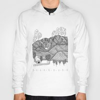 vermont Hoodies featuring Zentangle Sugarbush, Vermont by Vermont Greetings