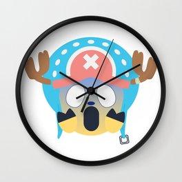 Tony Chopper Emoji Design Wall Clock