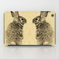 rabbit iPad Cases featuring Rabbit by Anna Shell