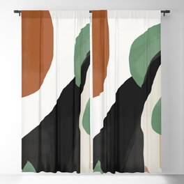 Abstract Art 37 Blackout Curtain