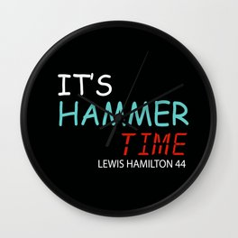 it is hammer time Wall Clock