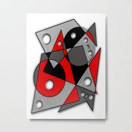 Abstract #282 Metal Print