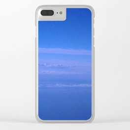 Illusory Cloudscape Clear iPhone Case