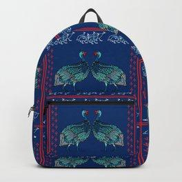Guinea Fowl Geometric Backpack