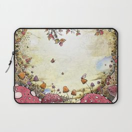 A Watchful Forest Laptop Sleeve