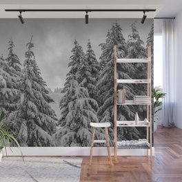 Forest Winter Window - 45/365 Nature Photography Wall Mural