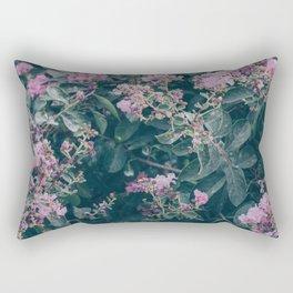 faded pink Rectangular Pillow