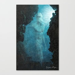 The Lost Colossus of Poseidon Canvas Print