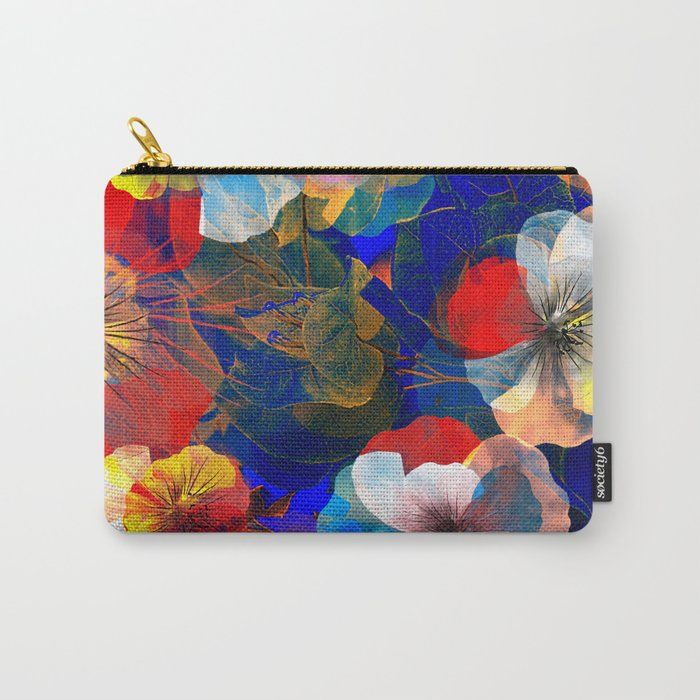 Flower carpet(54). Carry-All Pouch