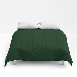Simply Tree Green Color Comforters
