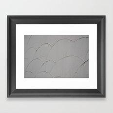 Japanese Fan Work Framed Art Print