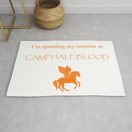 Spending my summer at Camp Half-Blood Rug
