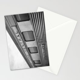 New York Central B&W Stationery Cards
