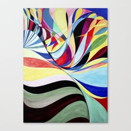 Geometric Botanicals 3 Canvas Print
