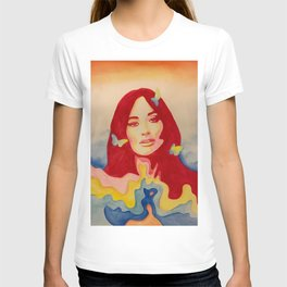 You Give Me Butterflies Spacey Kacey T-shirt