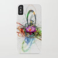 lotus flower iPhone & iPod Cases featuring Lotus by haroulita