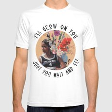 I'll Grow On You (Just You Wait And See) Mens Fitted Tee MEDIUM White
