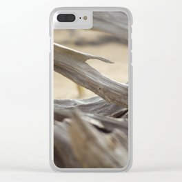 Twisted Wood of the Sand Dunes Clear iPhone Case
