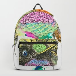 Heavy Thoughts Hummingbird Backpack