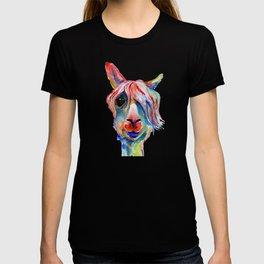 Lama hippy T-shirt
