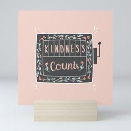 Kindness Counts Mini Art Print