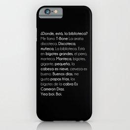 donde esta iPhone Case