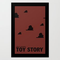 Toy Story | Minimalist Movie Poster Art Print