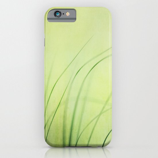Swaying Grasses (with texture) iPhone & iPod Case