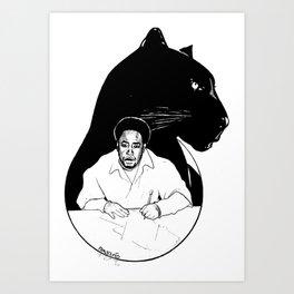 CHAIRMAN SHAKA Art Print