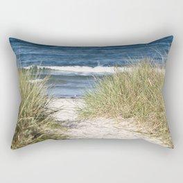 Sand Dune of Island Ruegen Rectangular Pillow