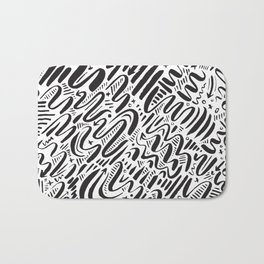 SQUIGGLY WIGGLY Bath Mat