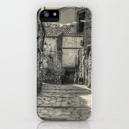 Mountain village iPhone Case