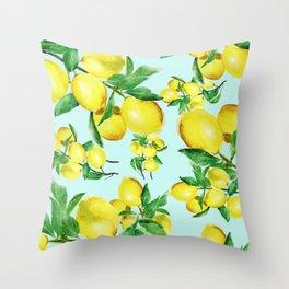 lemon 2 Throw Pillow