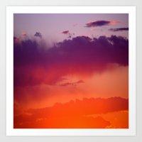 arizona Art Prints featuring Arizona by Laura Santeler