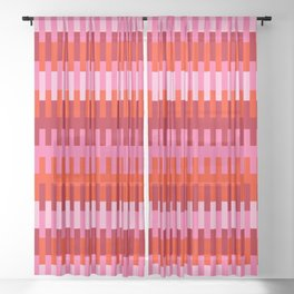 Abstract_LINE_ART_01 Sheer Curtain