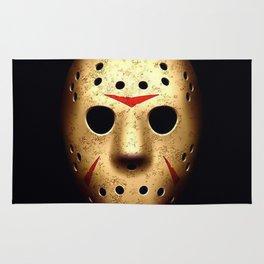 Friday 13th Jason Mask Rug