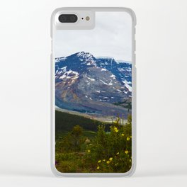The Athabasca & Snow Dome Glaciers in Jasper National Park, Canada Clear iPhone Case