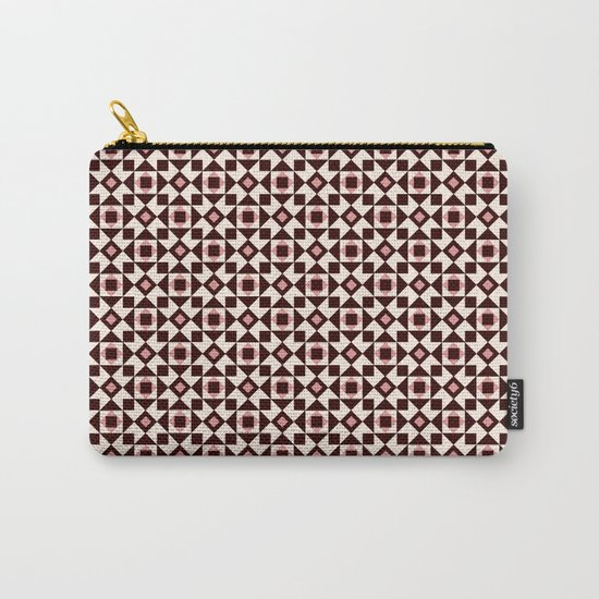 Azulejo Brown Carry-All Pouch